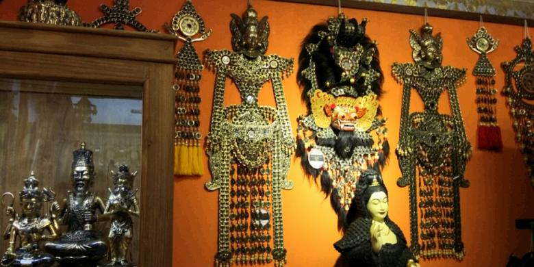Kerajinan Seni Uang Kepeng Dipamerkan Di Pesta Kesenian Bali