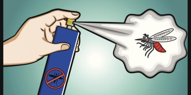 Hasil gambar untuk Obat Nyamuk Semprot