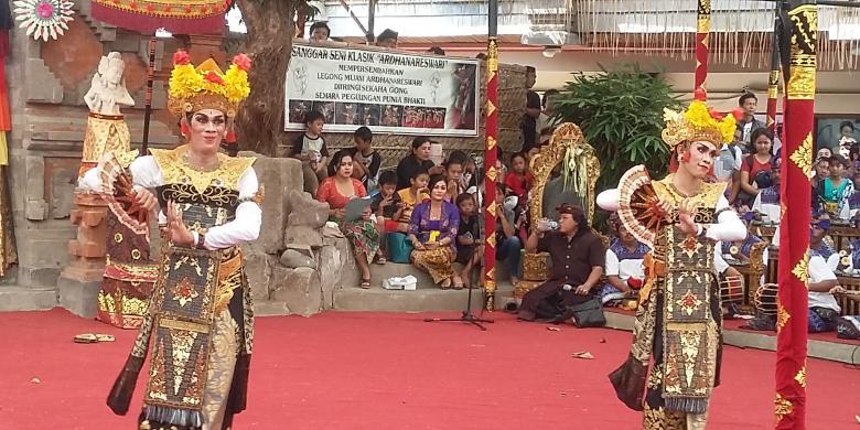 Legong Raja Cina Memukau Penonton Pesta Kesenian Bali
