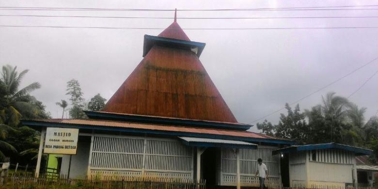 Masjid Tertua Di Bengkulu Berusia 200 Tahun Ini Tetap Kokoh