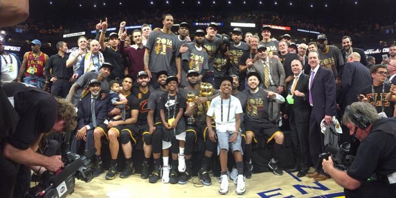 Juara NBA 2016, Cleveland Cavaliers Ukir Rekor