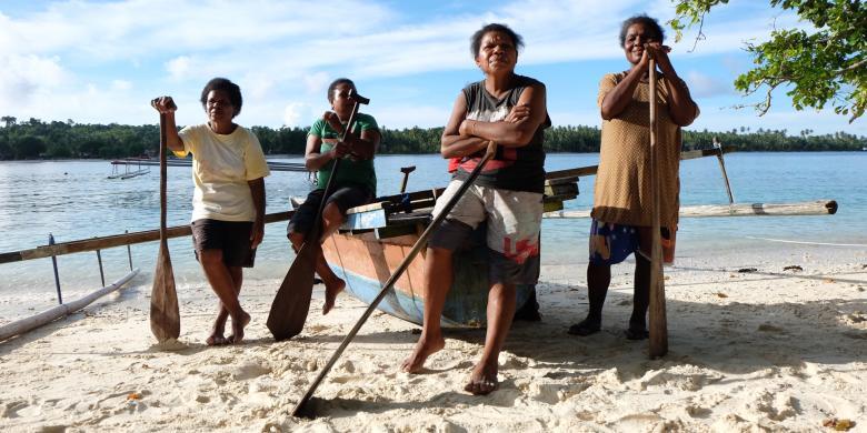 Mama-mama Lomba Dayung, Hanya Ada Di Papua
