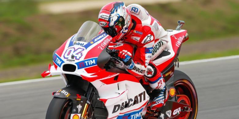 "Ungguli Rossi, Dovizioso Kuasai ""Pole Position"" GP Belanda"