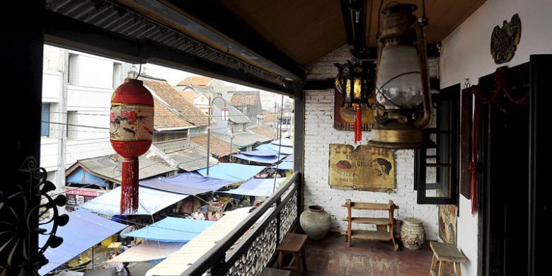 Museum Di Tengah Kepungan Sampah Pasar Tangerang