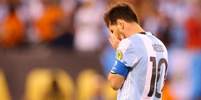 Pencetak Gol Final Piala Dunia 1986 Senang Messi Batal Pensiun