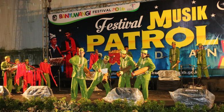 HUMAS PEMKAB BANYUWANGI Festival Patrol yang digelar Pemkab Banyuwangi ...