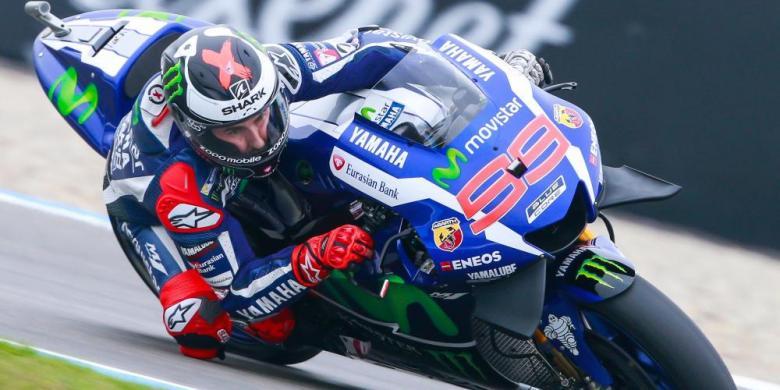 Lorenzo: Marquez Beruntung Jatuh Saat Latihan