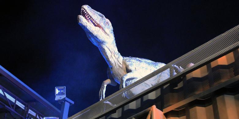 Serba Dinosaurus, Taman Wisata Terbaru Di Bangkok