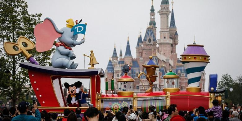 Mengintip Pesona Shanghai Disney