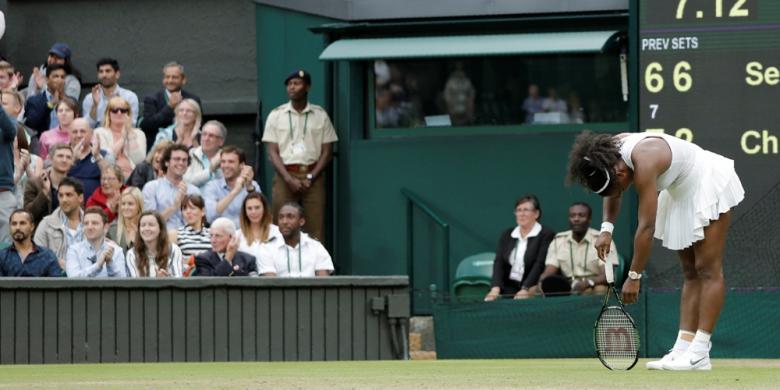 Serena Williams Didenda Rp 131 Juta