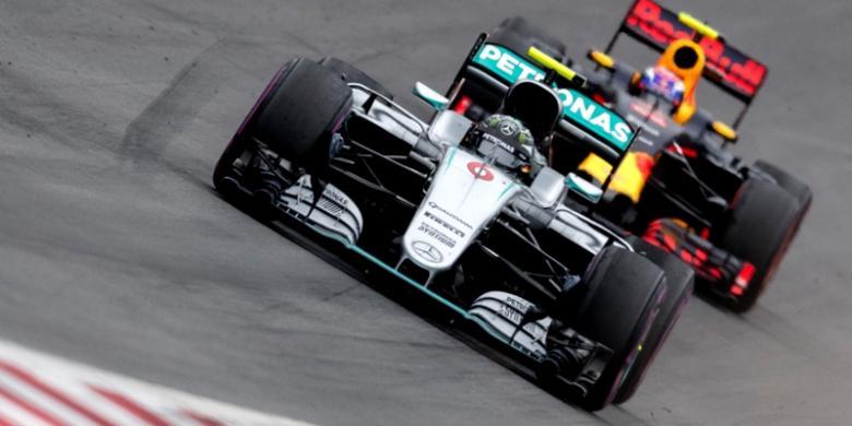 Rosberg: Saya Sangat Frustrasi