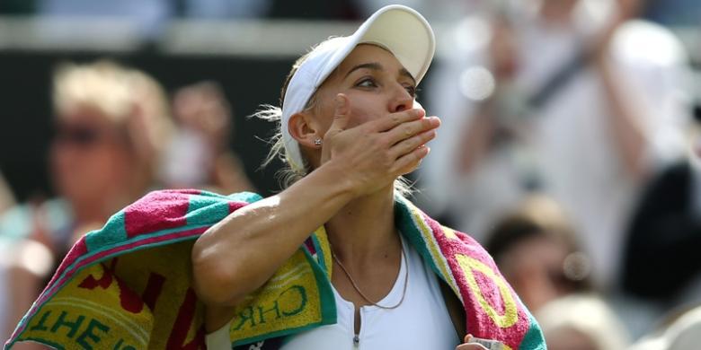 Elena Vesnina Dan Kejutannya Di Wimbledon