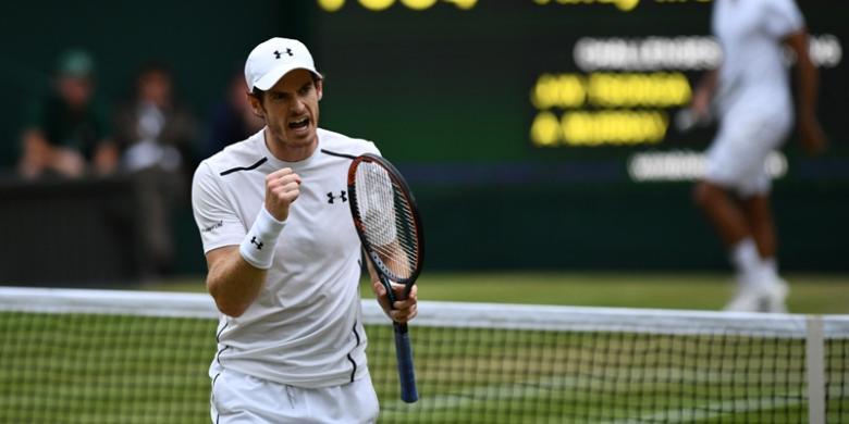 Murray Menuju Final Ketiga Beruntunnya Di Wimbledon
