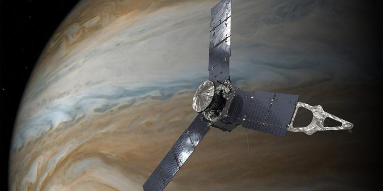 Juno dan Misteri Planet Monster di Tata Surya