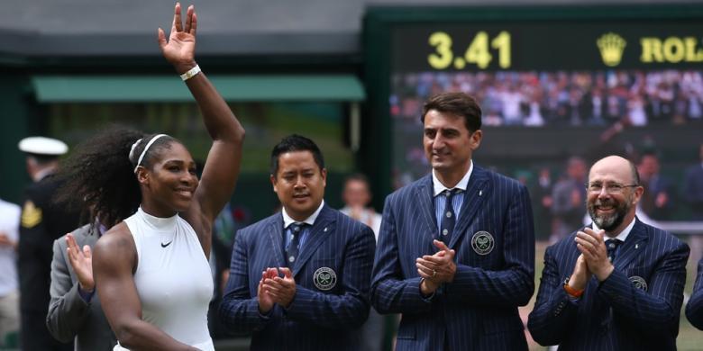 Djokovic Anggap Serena Masih Usia 22
