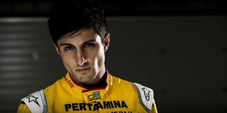 Mitch Evans Jaga Tradisi Poin Pertamina Campos Racing