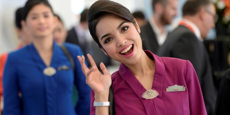 Cerita Di Balik Tata Rambut Pramugari Garuda Indonesia