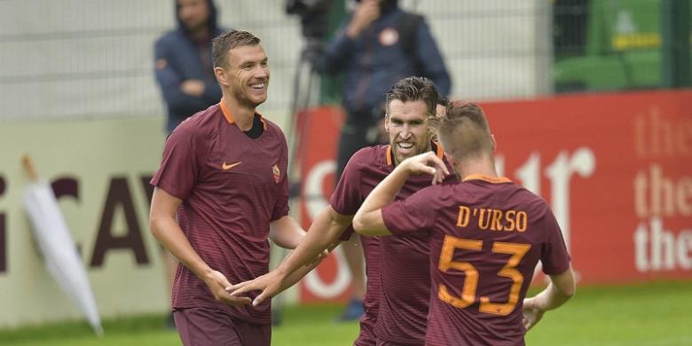 AS Roma Unjuk Kegarangan Di Laga Pramusim
