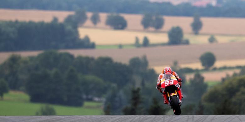 Marquez Paling Cepat Pada Latihan Ketiga GP Jerman