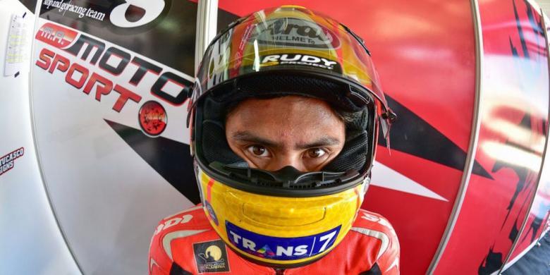 Start Dari Posisi Paling Belakang, Ali Adrian Finis Di Urutan Ke-4