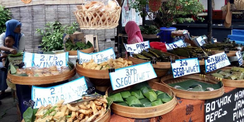 Bernostalgia Dengan Kuliner Masa Lalu Di Pasar Kangen Jogja