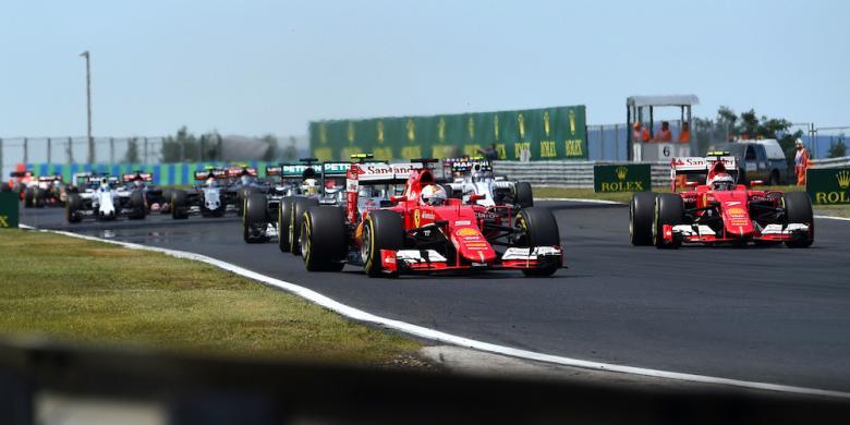 Jadwal Formula 1 Hongaria 2016
