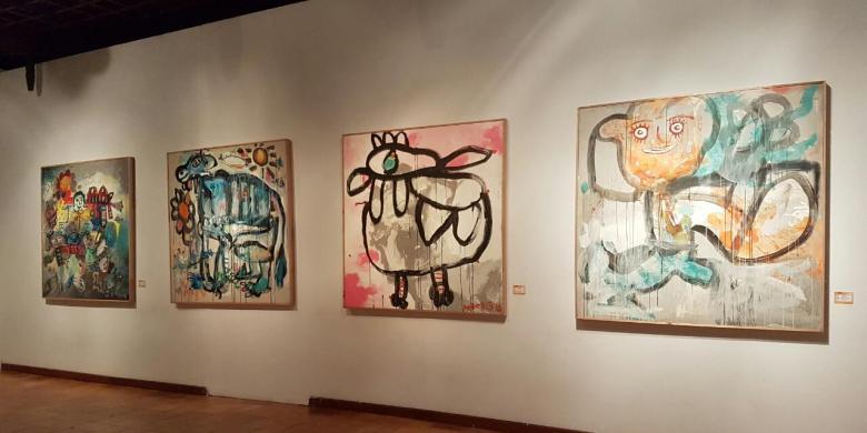 menengok pameran lukisan karya anak berkebutuhan khusus