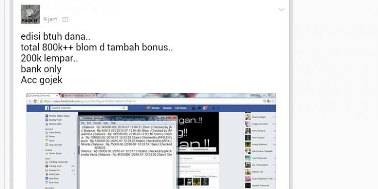 Akunnya Banyak Dijual Di Facebook Pelanggan Gojek Diminta Ganti