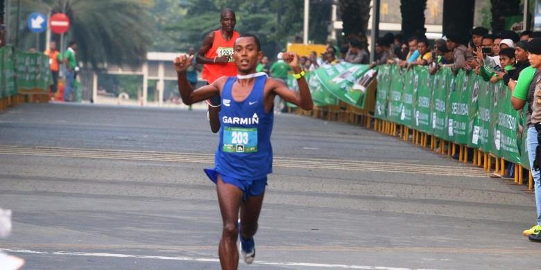 Agus Prayogo Dan Triyaningsih Masih Terbaik Di Maraton