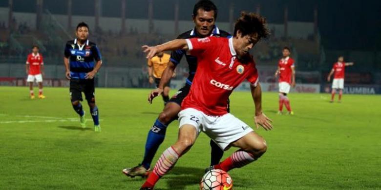 Bungkam Persija, Madura United Kembali ke Puncak Klasemen
