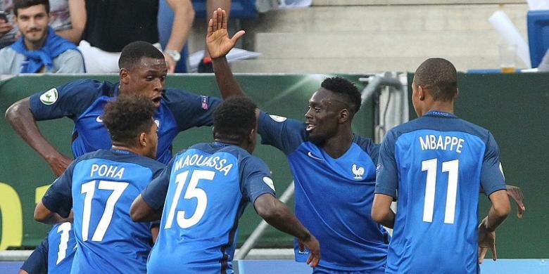 Prancis Juarai Piala Eropa 2016 U-19