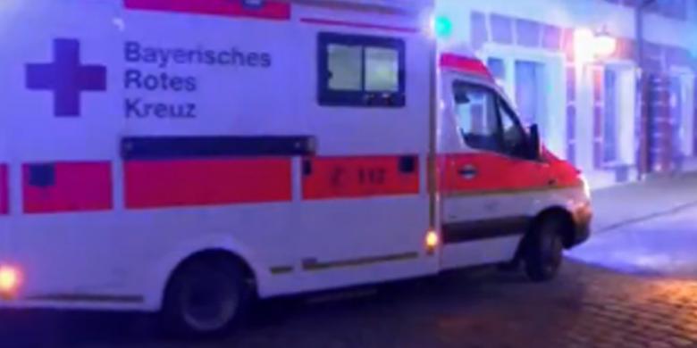 Ledakan di Restoran di Jerman Ternyata Serangan Bom Bunuh Diri