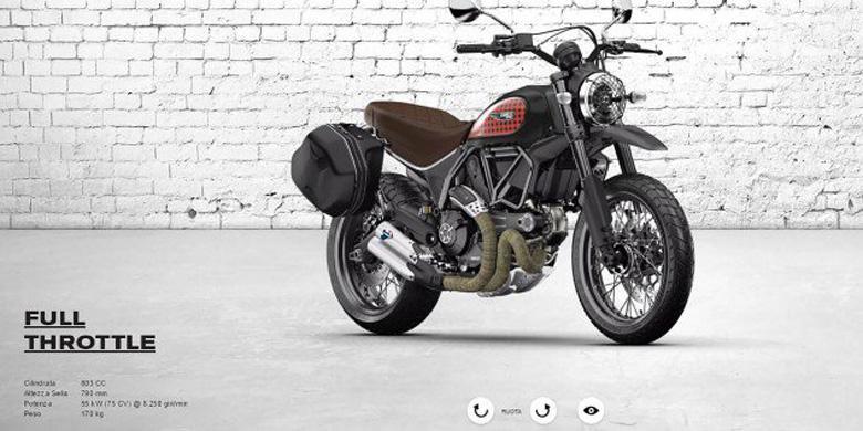 Modifikasi Digital Scrambler Ducati