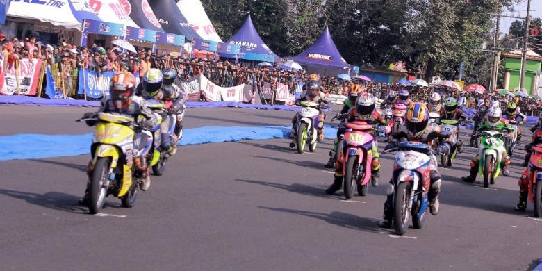 142 Starter Ikut Yamaha Cup Race Di Purwokerto