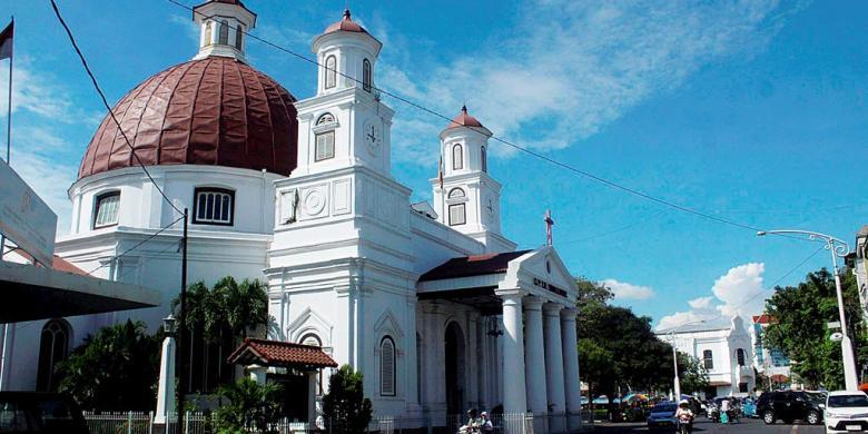 Gedung Tua Di Kota Lama Semarang Mulai Dimanfaatkan