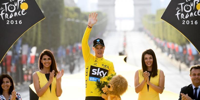 Froome Menangi Tour De France 2016