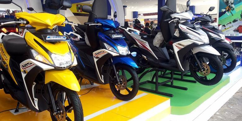Lima Motor Terlaris Yamaha 2016