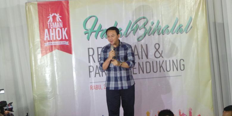 Ahok Segera Temui Megawati Setelah Putuskan Maju lewat Parpol