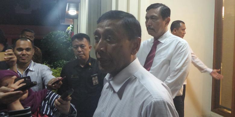 Wiranto: Setiap Saya Muncul Pasti Ada Penolakan, Itu Biasa