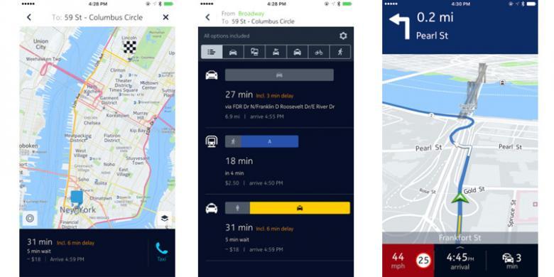 Aplikasi Peta Here Maps Ganti Nama