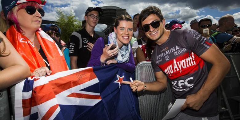 Kerja Keras Dua Pebalap Pertamina Campos Racing Tak Berakhir Manis