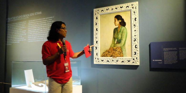 Siapakah Rini, Perempuan Yang Dilukis Soekarno?