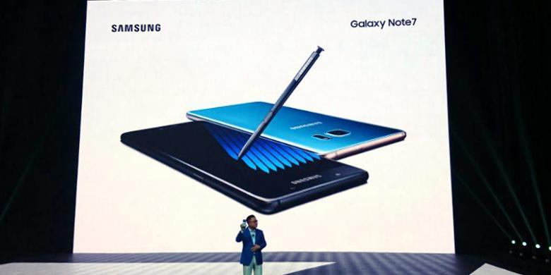 Bukan Galaxy Note 6, Samsung Luncurkan Galaxy Note 7