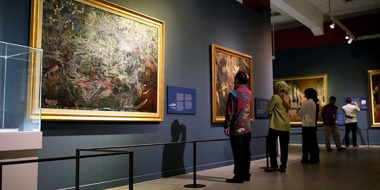 Sebelum Lihat Lukisan Istana Negara, Catat Hal Ini
