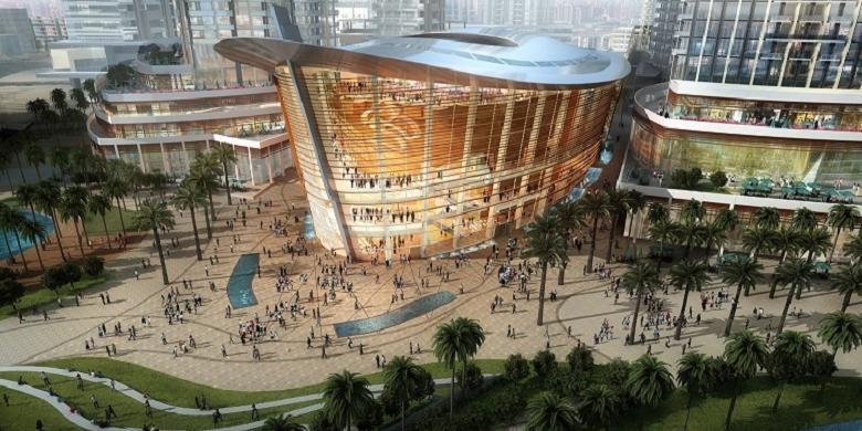 Kali Pertama! Dubai Akan Miliki Gedung Teater Kesenian