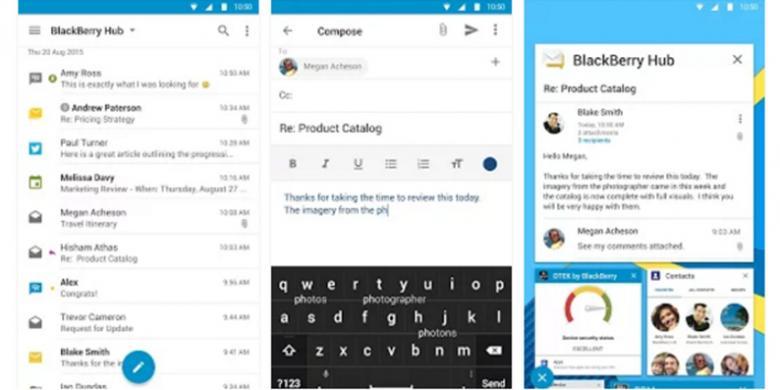 Aplikasi Andalan BlackBerry Kini Hadir Di Android