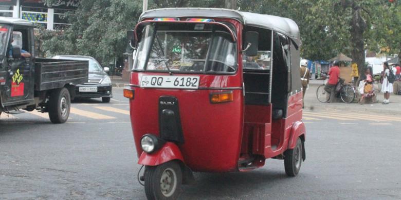 Inilah Bajaj, Taksi Ala Sri Lanka