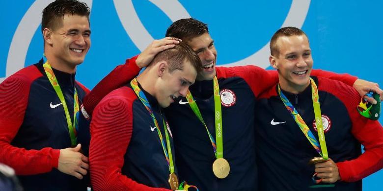 Medali Emas Ke-19 Buat Michael Phelps