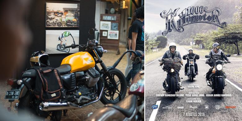 Moto Guzzi V7II Stone Jadi Bintang Film