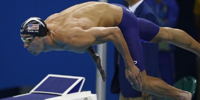 Phelps Minta Perang Terhadap Penggunaan Doping Ditingkatkan